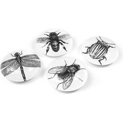 Trendform Magneet Bug Set van 4 - Insecten