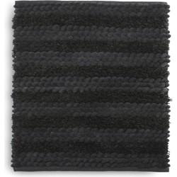 Bidetmat Roberto 60x60 cm dark grey - 60% Katoen 40% Polyester