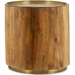 By Boo By Boo Coffeetable Tub Dark 45x45cm Copper