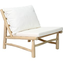 The Island One Seater - Natural White