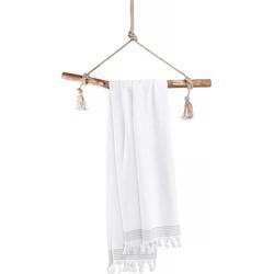 Hamamdoek Soft Cotton 100x180 cm wit