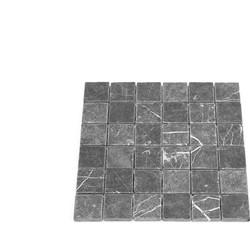 Toros Black Tumbled  4,8 x 4,8 x 1 cm