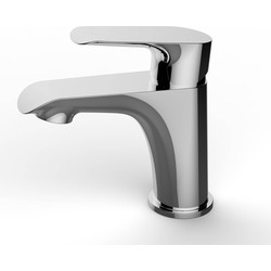 Saqu Design Collection 200 Wastafelkraan Chroom
