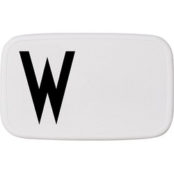 Design Letters Personal Lunch Box - W
