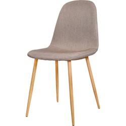 Stockholm stoel - taupe - set van 4