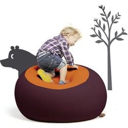 Terapy Stanley Kinder Zitzak - Aubergine/Oranje