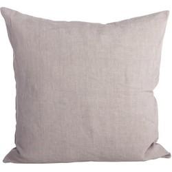 House Doctor Kussenhoes Simpel -  light grijs -  60x60 cm -  100% linnen