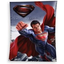 Fleece Deken Superman Man of Steel 110x140 Fleece Dekens