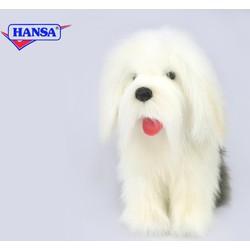 Knuffel Pluche Bobtail Hond - Hansa Creation