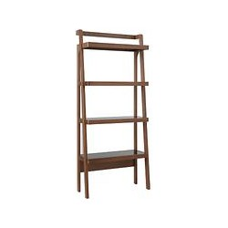 John Lewis Gazelle Bookcase, Walnut