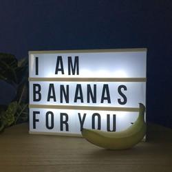 Lifa Living Lightbox met letters