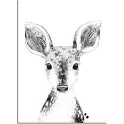 Hert Kinderkamerposter - A4 poster zonder fotolijst