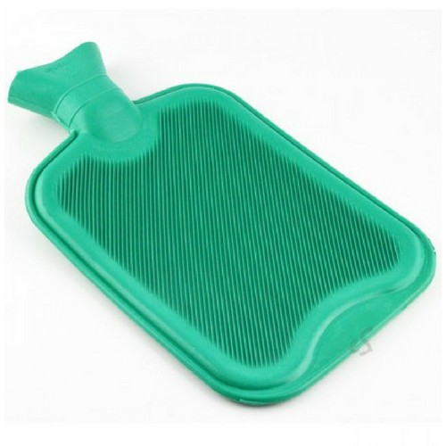 Warm water kruik groen -