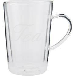 Clayre & Eef Glas 10x7x11 cm / 0.2L