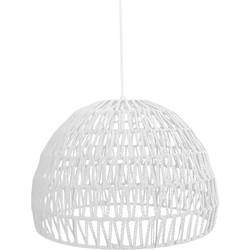 LABEL51 - Hanglamp Rope 38x38x30 cm M - Modern - Wit