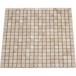 Burdur Beige Honed 1,5 x 1,5 x 1 cm