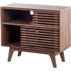 Sideboard bruin - dressoir - lowboard - kast - tv-meubel - tv-kast - CLEVELAND
