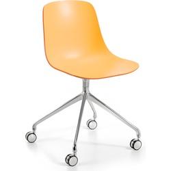 Infiniti Bureaustoel Pure Loop Binuance - Perzik/Oranje