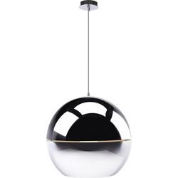 Zuiver Hanglamp Retro 70 - Chroom 50 Cm