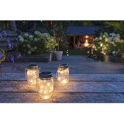 LED Lovers set van 3 led solar lamp