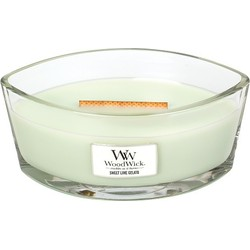 Woodwick HearthWick Flame Sweet Lime Gelato
