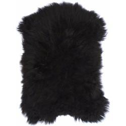 HKliving schapenvacht kleed zwart 90 x 55