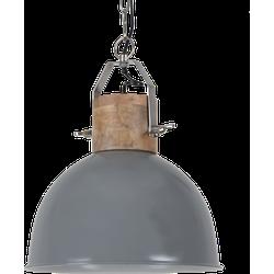 Hanglamp Fabriano Diameter 30 cm Glans Donker Grijs