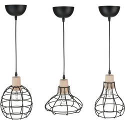 J-Line Hanglamp alice s/3 27 x Ø20