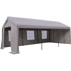 Outdoor Living Paviljoen Party PE grijs 3x6mtr