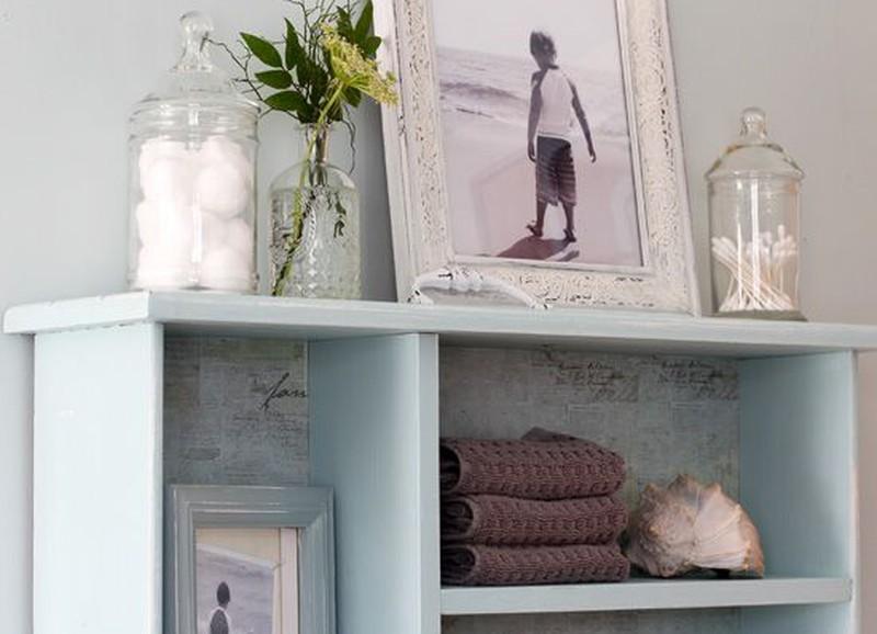 Diy: oude laatjes aan de muur alles om van je huis je thuis te