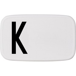 Design Letters Personal Lunch Box - K