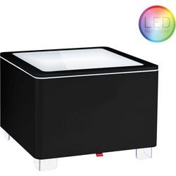 Moree Ora LED Pro Accu Salontafel 60x60x45 - Zwart