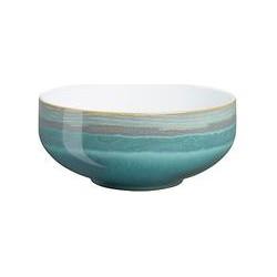 Denby Azure Coast Cereal Bowl, Blue, Dia.15.5cm