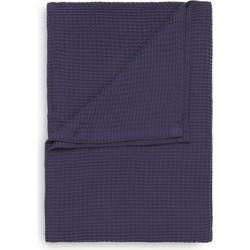 Bedsprei Wafel 180x260 cm vintage purple - 100% Katoen