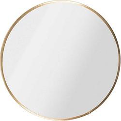Zusss Spiegel Metaal Rond Ø15 cm - Goud