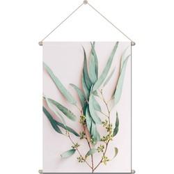 Foto op Textielposter Eucalyptus roze - 90 x 120 cm