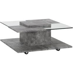 Salontafel grijs/beton look NAPA