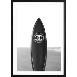 Black Chanel Board Poster (29,7x42cm)
