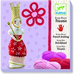 Djeco French knitting Elodie (red)