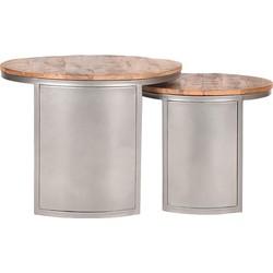 LABEL51 - Salontafel Set Bunch - Vintage Steel
