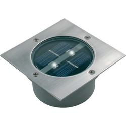 Ranex LED Solar Grondspot Tuinverlichting, Schemersensor, Waterdicht IP44, Warm Wit
