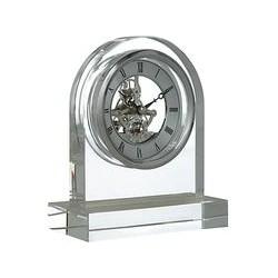 London Clock Company Crystal Dome Skeleton Clock