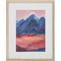 HK Living Canvas Print Sunset L 49 x 39 x 1,5