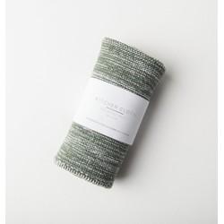 Kitchen Cloth Melange Knit - Nature Green