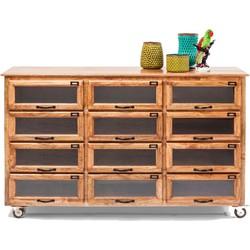 Kare Design Dressoir Drugstore hout naturel 95 x 150 x 41