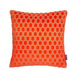 Kirkby Design by Romo Bakerloo Cushion, Neon Orange