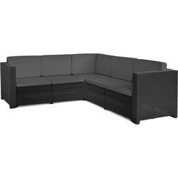 Keter Provence loungeset - graphite