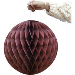 Delight Department Honeycomb roodbruin set van 2