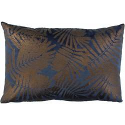 Sierkussen Ester in de kleur Indigo Bronze - 40x60cm