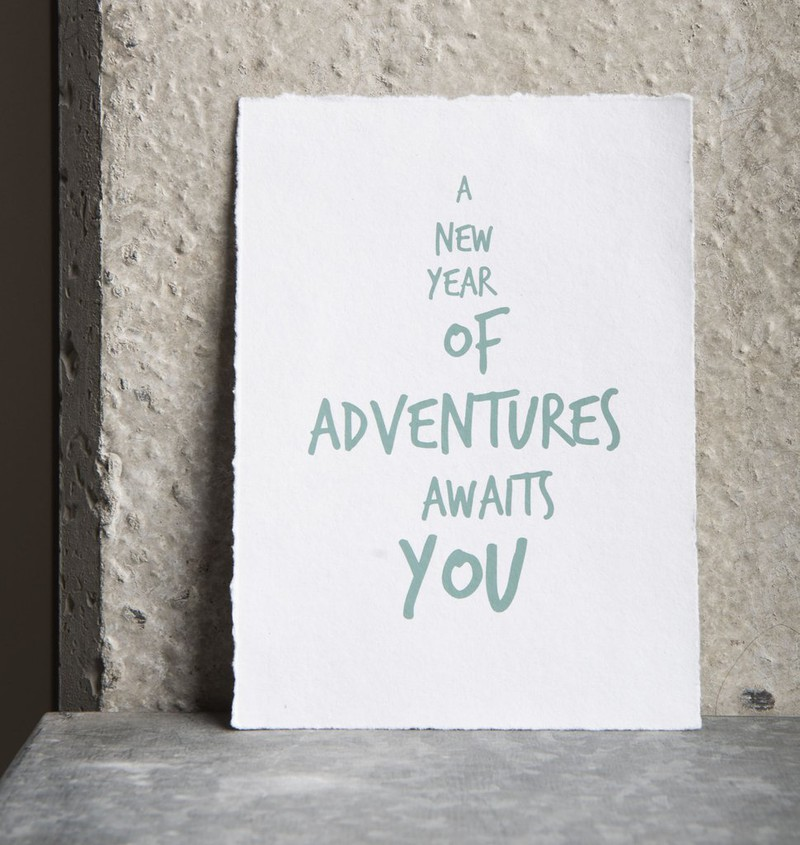Wish Cards With Envelope - Adventures -